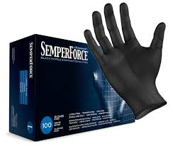 Sempermed SemperForce Black Nitrile