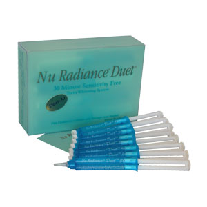 Nu Radiance Duet Teeth Whitener Eight Pack