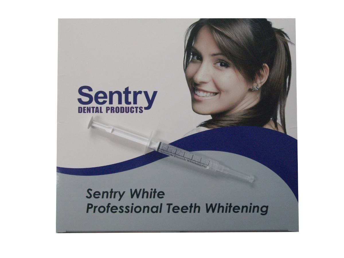 Sentry White 5 Minute 50 Syringe Pack