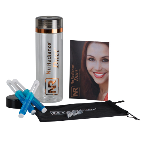 Nu Radiance Duet Teeth Whitener Patient Kit